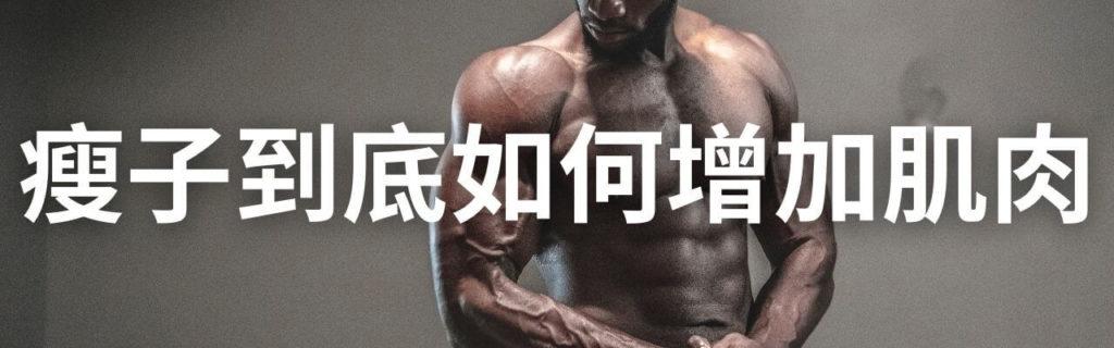 瘦子到底如何增加肌肉