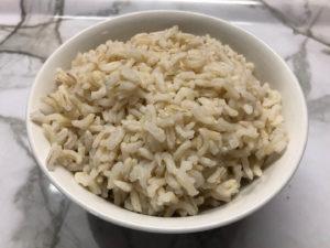 糙米飯完成