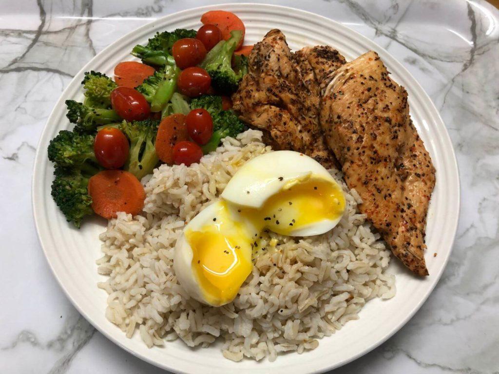 超美味高蛋白健身餐