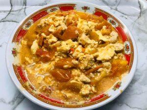 番茄蛋完成