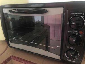 準備烤箱和烤盤