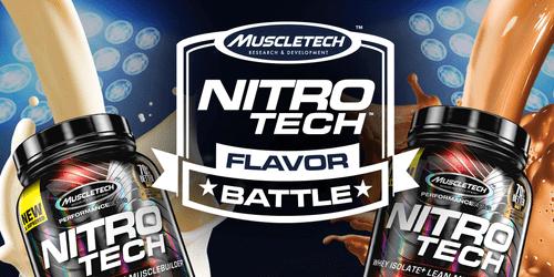 MuscleTech Nitro-Tech乳清蛋白的口味