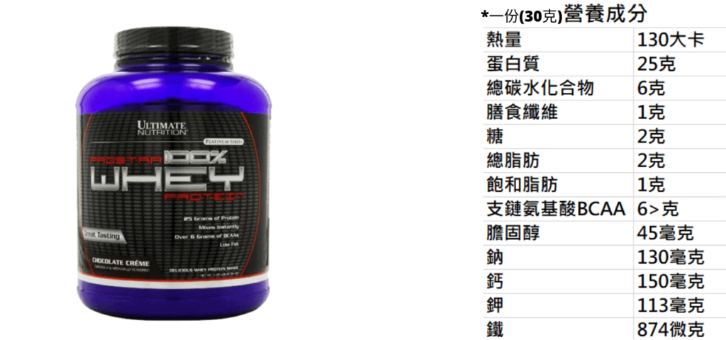 Ultimate Nutrition ProStar 100%乳清蛋白
