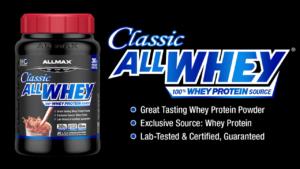 ALLMAX Classic ALLWHEY乳清蛋白的主要成分
