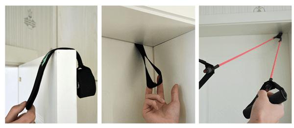 門扣使用示意圖
