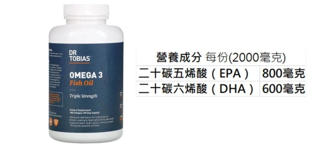 Dr.Tobias Omega-3 Fish Oil