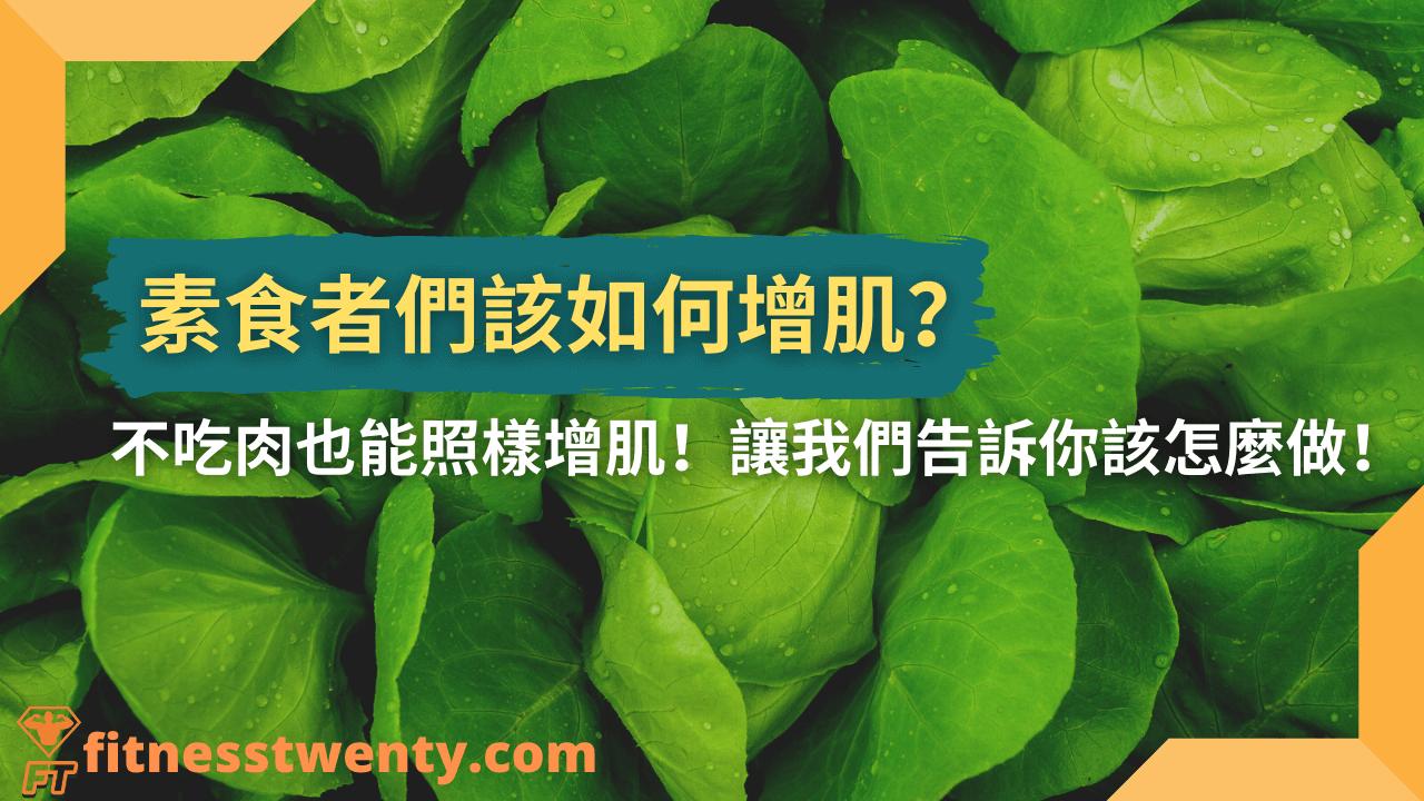 【2021】素食者該如何增肌?不吃肉也能照樣增肌!讓我們告訴你該怎麼做!