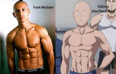 素食者的成功案例 Frank Medrano