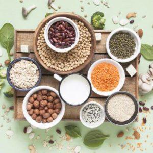 攝取多種不同的植物蛋白