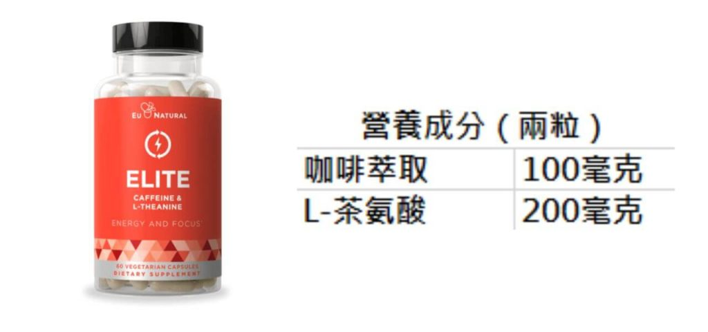 Eu Natural ELITE Caffeine 營養成分