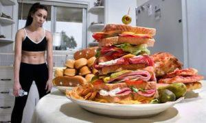 吃進太多食物